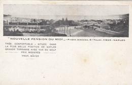 NAPOLI-NOUVELLE PENSION DU MIDI-CARTOLINA PER IL MERCATO FRANCESE- NON VIAGGIATA -1910-1920 - Napoli (Naples)