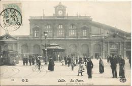 LILLE   ( Nord )    -   LA  GARE  /  Tramway - Lille