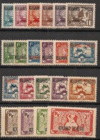 Kouang Tchéou - 1937 - N°Yv. 97 à 117 - Série Complète - Neuf Luxe ** / MNH / Postfrisch - Unused Stamps