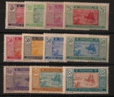 Mauritanie - 1922-26 - N°Yv. 39 à 49 - Série Complète - Neuf Luxe ** / MNH / Postfrisch - Neufs