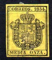 Sello Nº 28  España - Usados