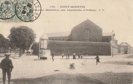 CPA-02-SAINT QUENTIN-Boulevard Richelieu-Rue Chantrelle Et Prison - Saint Quentin