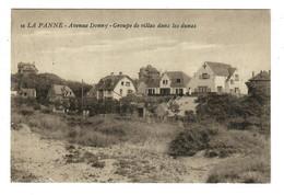 La Panne  De Panne  Avenue Donny - Groupe De Villas Dans Les Dunes  Edit ? N° 16 - De Panne