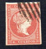 Sello Nº 44  España - Usados