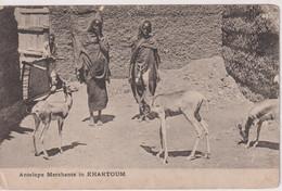 SUDAN - Antelope Merchants In KHARTOUM - VG Ethnic Etc - Sudan