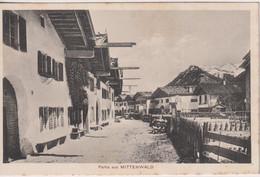 GERMANY - Partie Aus MITTENWALD - Mittenwald