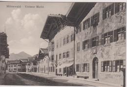 GERMANY - MITTENWALD - Unterer Markt - Mittenwald