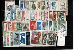 France 1961 Luxe Sans Charnière ** Cote 70 Euros - 1960-1969