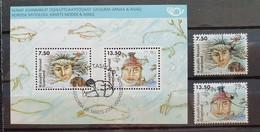 Grönland 2006, Block 34 + Werte Gestempelt - Gebraucht