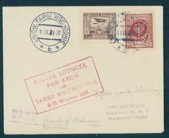 POLAND, LWOW TARGI WSCHODNIE TO WARSZAWA 1926 - Flugzeuge