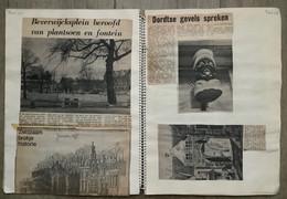 NL.- Drie Plakboeken Met Krantenknipsels Van DORDRECHT. - General Issues