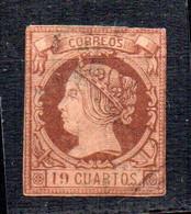 Sello Nº 54  España - Usados