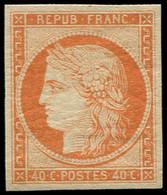 * FRANCE - Poste - 5A, Belles Marges, Léger Clair Habituel Avec Cette Gomme, Certificat Scheller - Unclassified