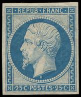 * FRANCE - Poste - 10, Signé Scheller, Belles Marges: 25c. Présidence Bleu - Unclassified