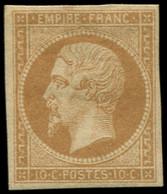* FRANCE - Poste - 13A, Type I, Signé Scheller: 10c. Brun-clair - Unclassified