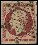 O FRANCE - Poste - 18, Très Belle Marges, Signé Calves: 1f. Carmin - Unclassified