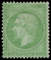 * FRANCE - Poste - 20, Anneau De Lune, Signé - 1862 Napoleon III