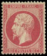 * FRANCE - Poste - 24, Signé Scheller, Très Frais: 80c. Rose - Unclassified