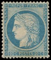 * FRANCE - Poste - 37, Signé Calves: 20c. Bleu - 1870 Siège De Paris