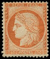 * FRANCE - Poste - 38, Signé Calves: 40c. Orange - 1870 Siège De Paris