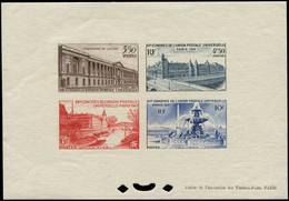 ** FRANCE - Blocs Spéciaux - 780/83, Bloc Feuillet Gommé: UPU 1947 - Autres