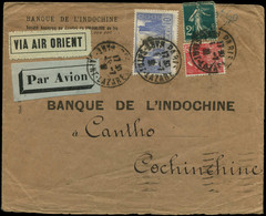 LET FRANCE - 1° Vols - 13/7/31, Marseille/Saïgon, Accident D'Akyab (Sans Mention), Arrivée Saïgon 22/7, Pilote Winckler - Premiers Vols