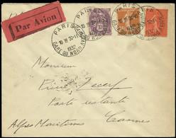 LET FRANCE - 1° Vols - 20/2/32, Paris/Cannes, Enveloppe (Saul 6b) - Premiers Vols