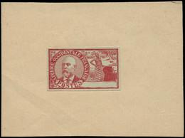 EPA COLONIES SERIES - Poste - 1906, Type Bellay Non Dentelé Rouge S. Vert Sans La Valeur Sur Papier, Signé Scheller - Autres