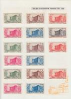 * COLONIES SERIES - Poste - 1939, Révolution, Poste + Pa., Complet, 128 Valeurs - Non Classés