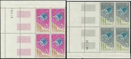 ** COLONIES SERIES - Poste Aérienne - 1965, Série Complète De 9 Blocs De 4, Dom-Tom: UIT - Non Classés