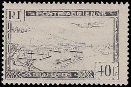 * ALGERIE - Poste Aérienne - 6, Impression Très Défectueuse - Poste Aérienne