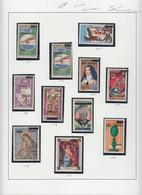 ** BENIN - Poste - Michel 1467/1568 + 1519 (sauf 1504 - 1542/43 - 1548 - 1550/1551 - 1558), 106 Valeurs Surcharges Local - Unclassified