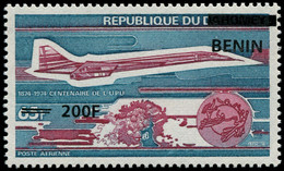 ** BENIN - Poste Aérienne - Michel 1526, Centenaire De L'UPU, Concorde - Unused Stamps