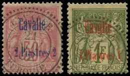 O CAVALLE - Poste - 7/8, Oblitérations Centrales 21 Novembre 1902 - Oblitérés