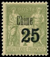 * CHINE FRANCAISE - Poste - 18, Timbre De 1894 Surchargé - Neufs