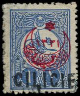 O CILICIE - Poste - 7, Signé Thiaude: 1p. Outremer - Oblitérés