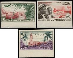 ** COMORES - Poste Aérienne - 1/3, Non Dentelés (Maury) - Poste Aérienne