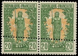 ** CONGO - Poste - 33, En Paire, Piquage Double (Maury) - Ungebraucht