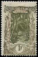* CONGO - Poste - 39, Filigrane Renversé: 1f. Gris Et Brun Olive - Ungebraucht