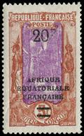 """** CONGO - Poste - 105a,  """"F"""" Sans Le Point - Ungebraucht"""