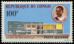 ** CONGO - Poste Aérienne - 11, Mairie De Brazzaville - Ungebraucht