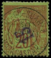 O DIEGO-SUAREZ - Poste - 4a, Surcharge Renversée, Signé - Used Stamps