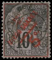 O DIEGO-SUAREZ - Poste - 11, Signé Brun, Oblitéré Novembre 1891: 5c. S. 10c. Noir S. Lilas - Used Stamps