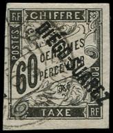 O DIEGO-SUAREZ - Taxe - 12, Signé Brun: 60c. Noir - Other