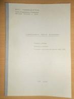 ENEL TORINO 1965 LABORATORIO PROVE MATERIALI DIGA ALPE GERA - CIGNANA - GOILLET - Matematica E Fisica