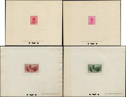 EPL GRAND LIBAN - Poste - 152/56A + A 65/74, 18 épreuves De Luxe, Complet Dont Non émis 156A (Maury) - Unused Stamps