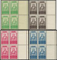 ** GRAND LIBAN - Poste - 176/79, Blocs De 4 Bord De Feuille (Maury) - Unused Stamps