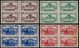 ** GRAND LIBAN - Poste - 193/96, Blocs De 4 (Maury) - Unused Stamps