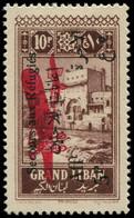 "* GRAND LIBAN - Poste Aérienne - 20, ""c"" Barré (Maury) - Airmail"