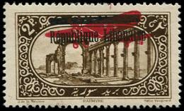 * GRAND LIBAN - Poste Aérienne - 21, Erreur Sur Timbre De Syrie 161 (Maury 76), * Papier - Airmail